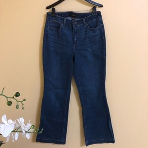 New Talbots flare curvy jeans size 8